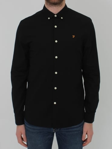 Libbert Long Sleeve Shirt - Black
