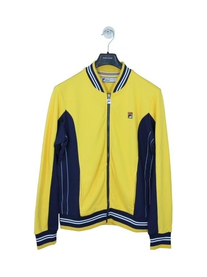Fila Settanta Track Jacket - Yellow