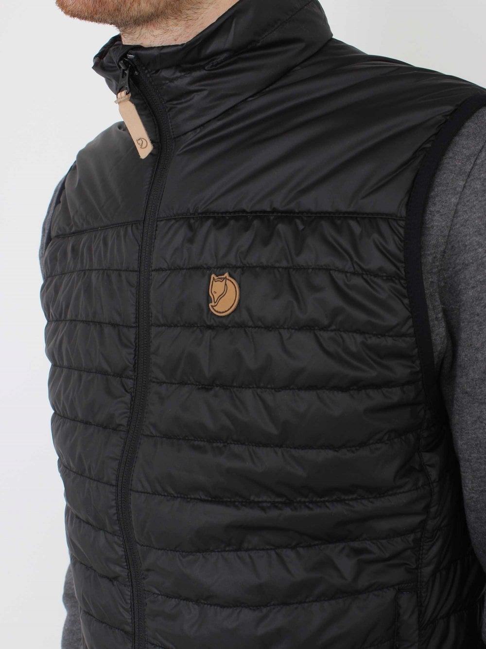 new high high quality new arrivals Abisko Padded Vest - Black