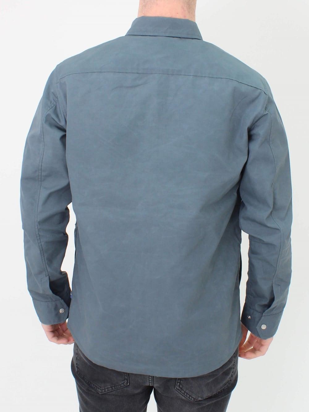 Fjallraven Greenland Zip Shirt Jacket In Dusk Northern Threads Top