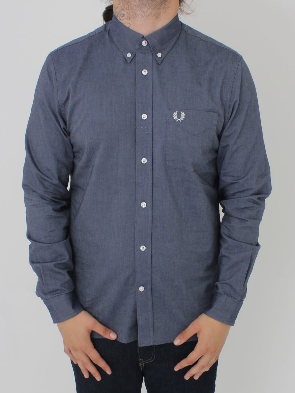 Classic Oxford Shirt - Dark Carbon