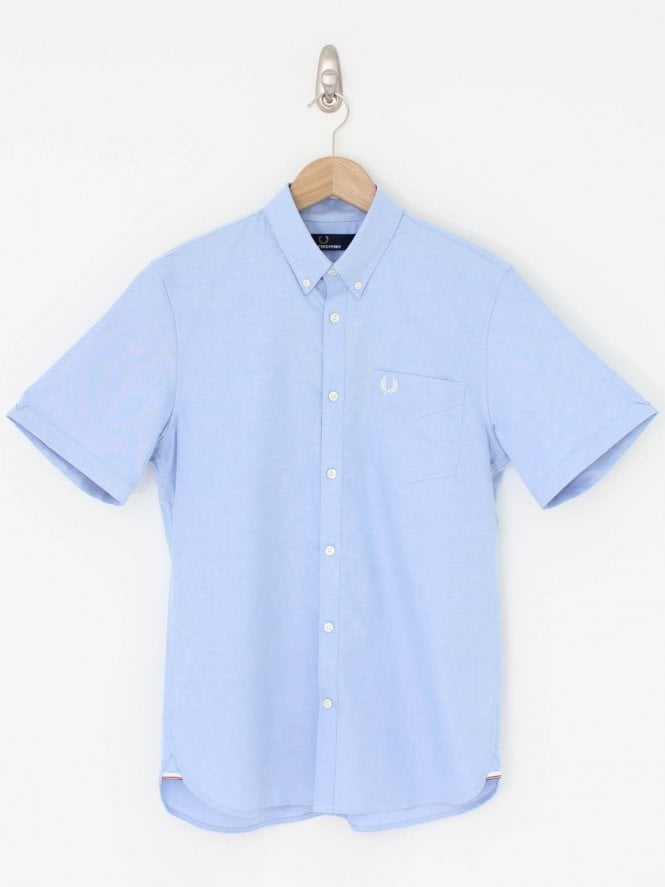 Fred Perry Classic Oxford Shirt - Light Smoke