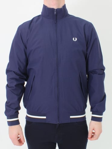 Funnel Neck Brentham Jacket - French Navy