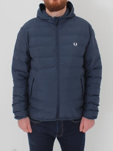 Insulated Brentham Jacket - Dark Airforce