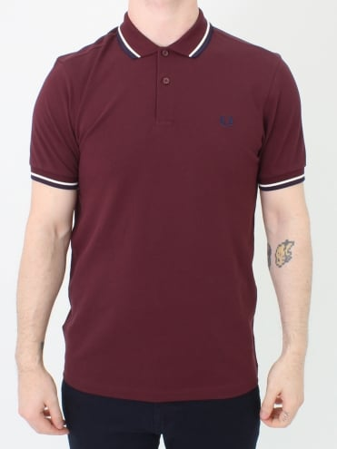 M3600 Twin Tipped Polo - Mahogany