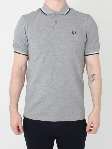 M3600 Twin Tipped Polo - Steel Marl