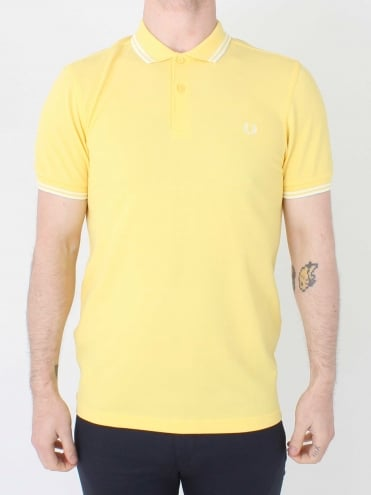 M3600 Twin Tipped Polo - Yellow