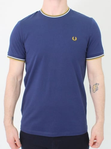 Twin Tipped T.Shirt - French Navy