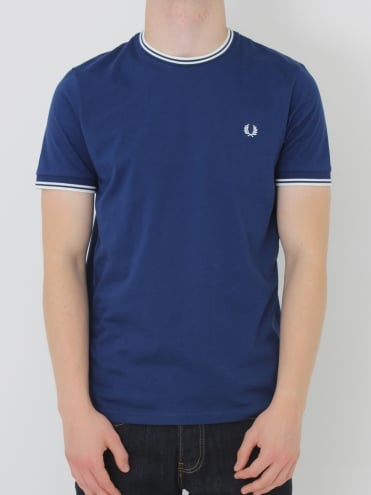 Twin Tipped T.Shirt - Medieval Blue