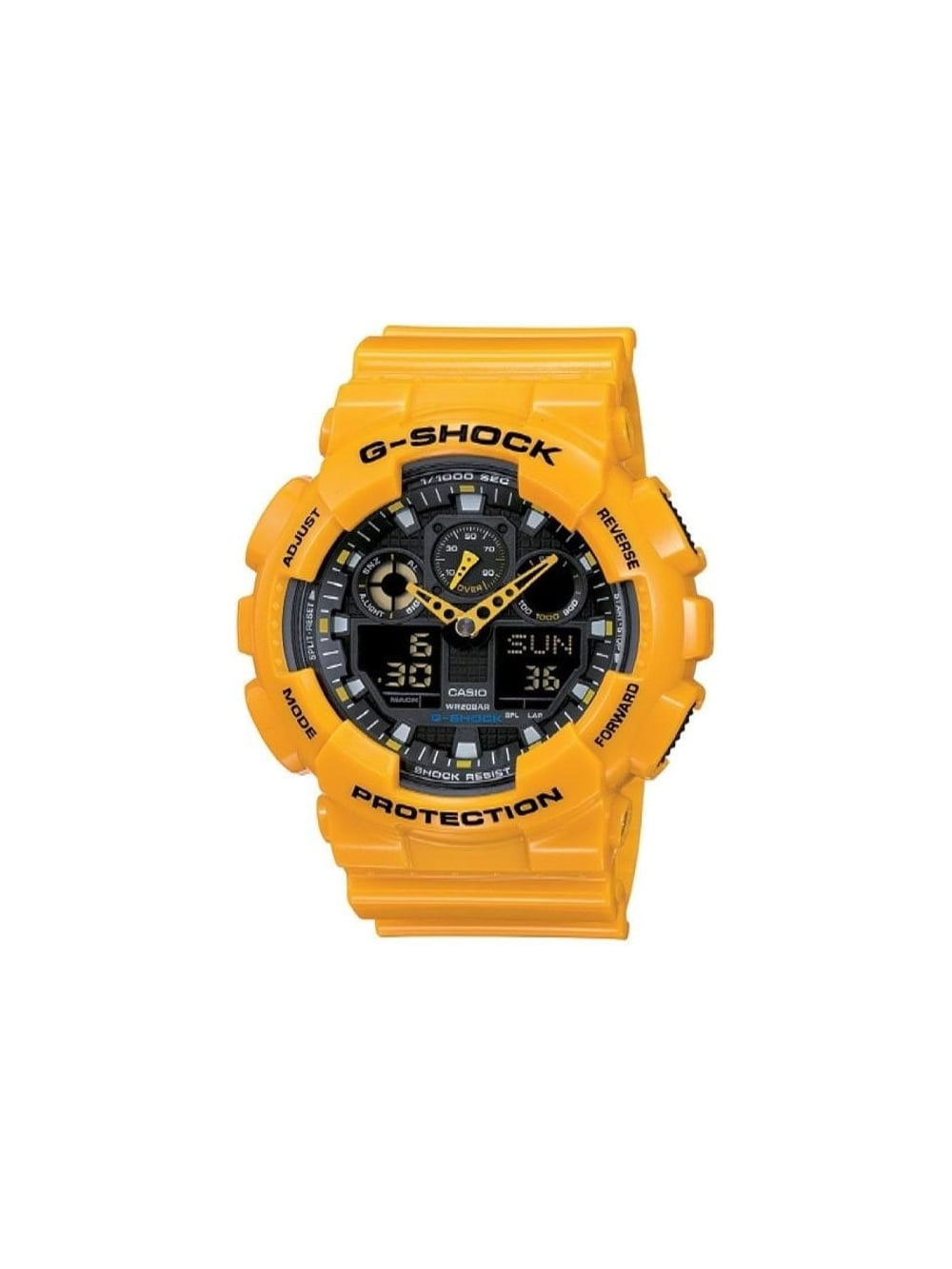 27c65d189 G-Shock - Big Size Combi Watch - Orange - G-Shock watches at ...