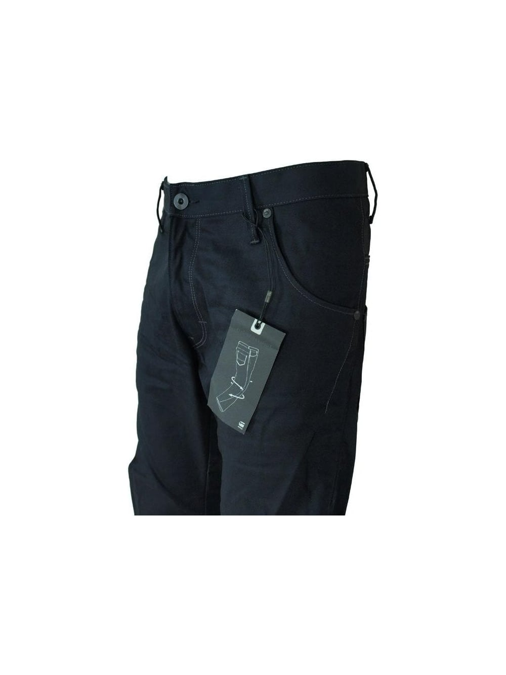 f60e3026b7c G Star - G Star Arc Loose Tapered Jeans - 3D Resin - G Star Jeans at ...