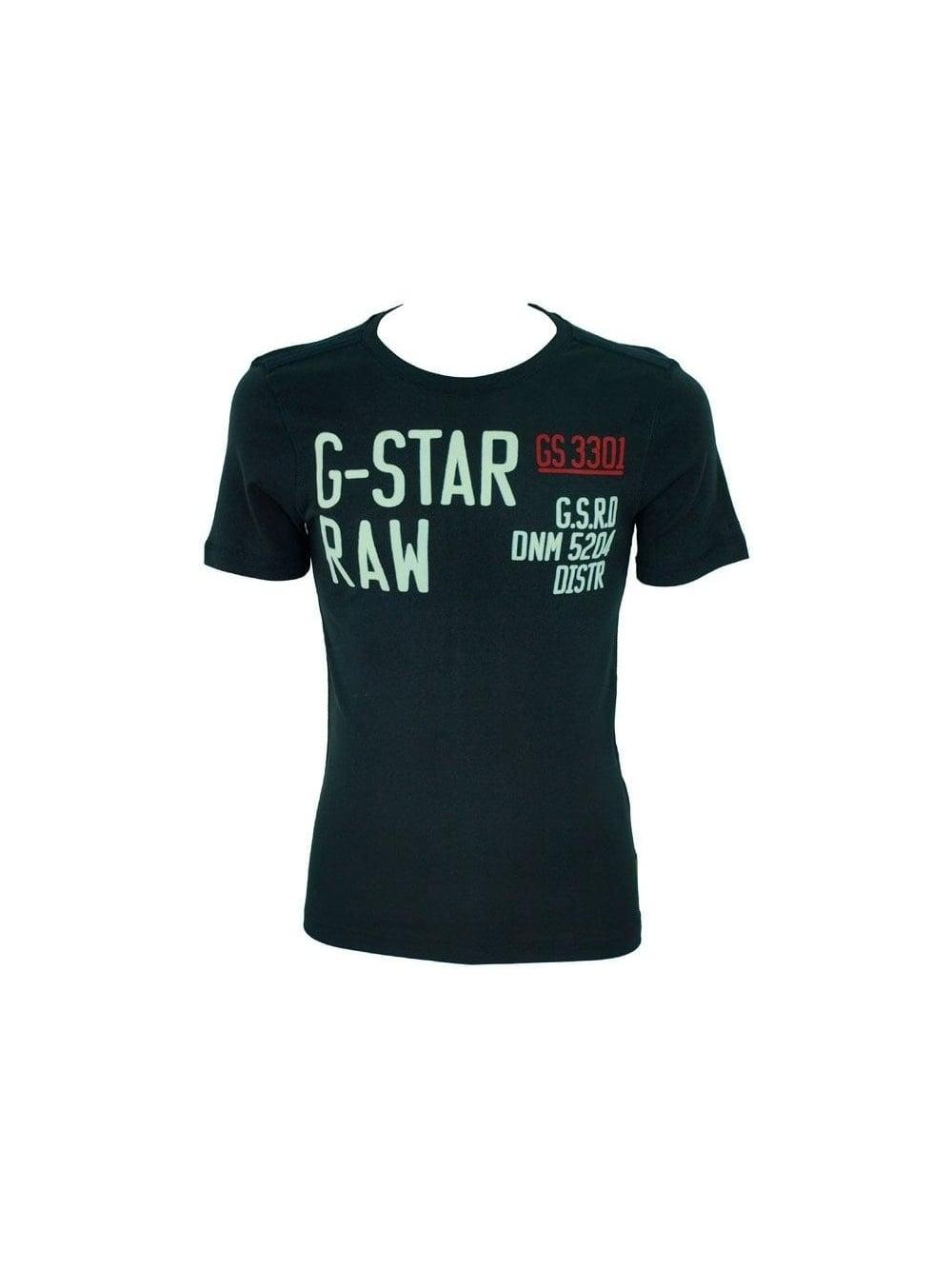 best sneakers d0e9f 2dfe1 Cargo Applique Print T-Shirt - Dark Navy