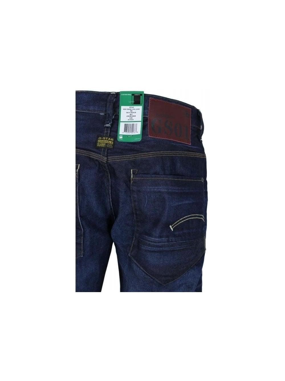 f709ba26a80 G Star New Radar Low Loose Jeans in Dark Aged - Northern Threads