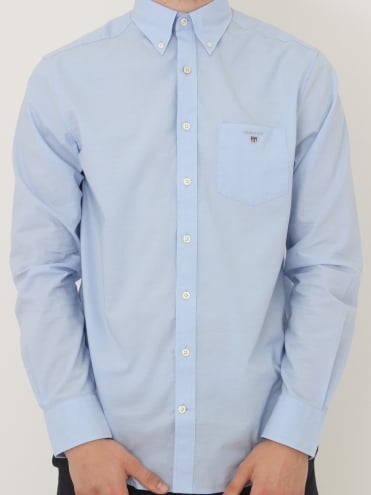 Broadcloth Button Down Shirt - Hampton Blue