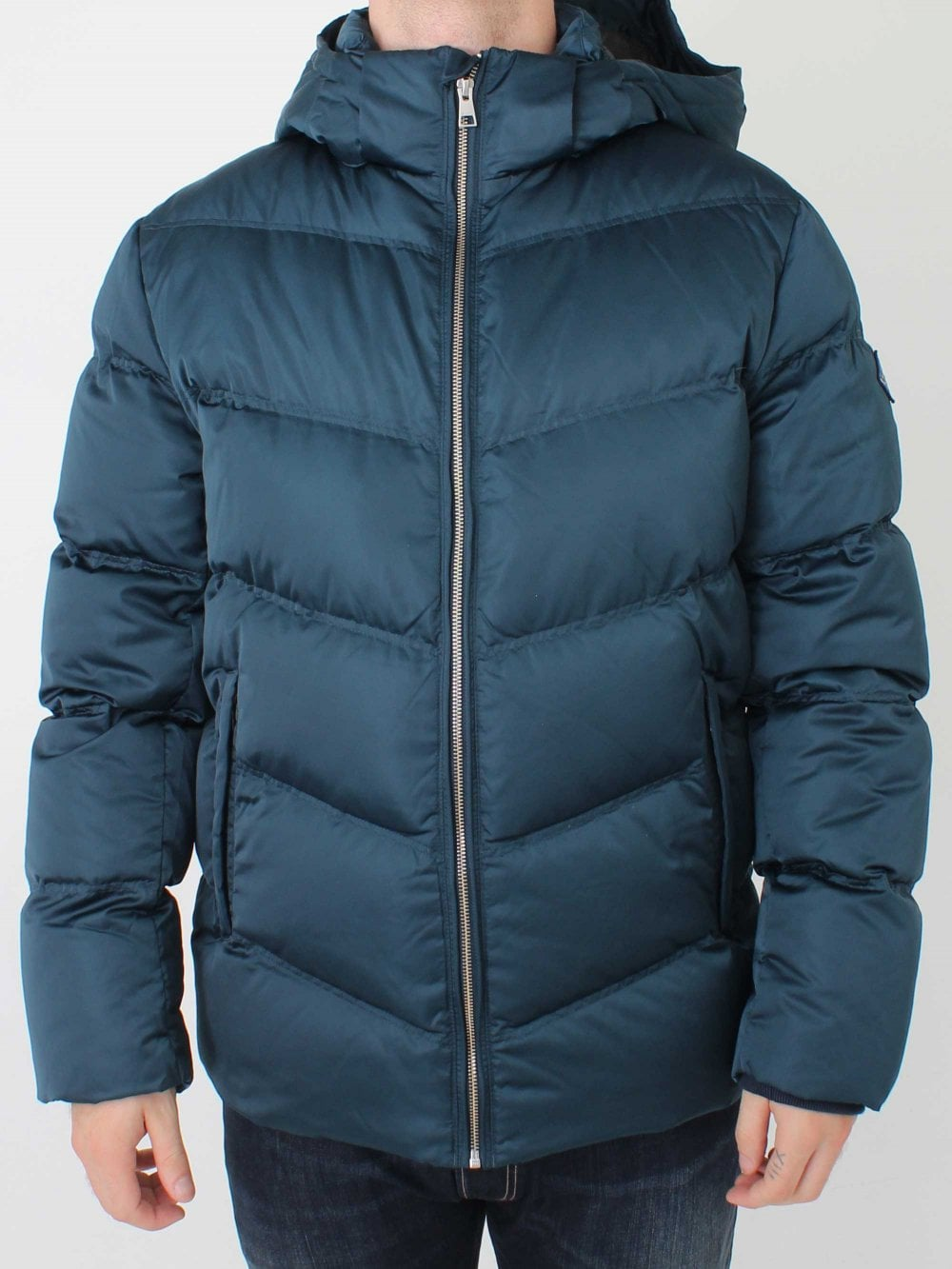 78701982e7e GANT The Alta Down Jacket in Blue Emerald | Northern Threads