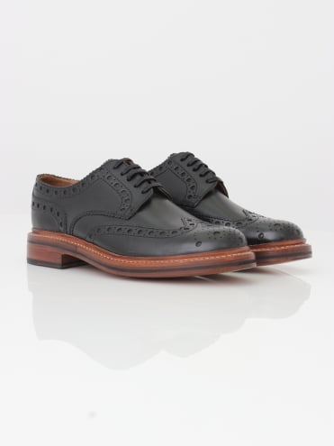 Archie Big Punch Brogue - Black