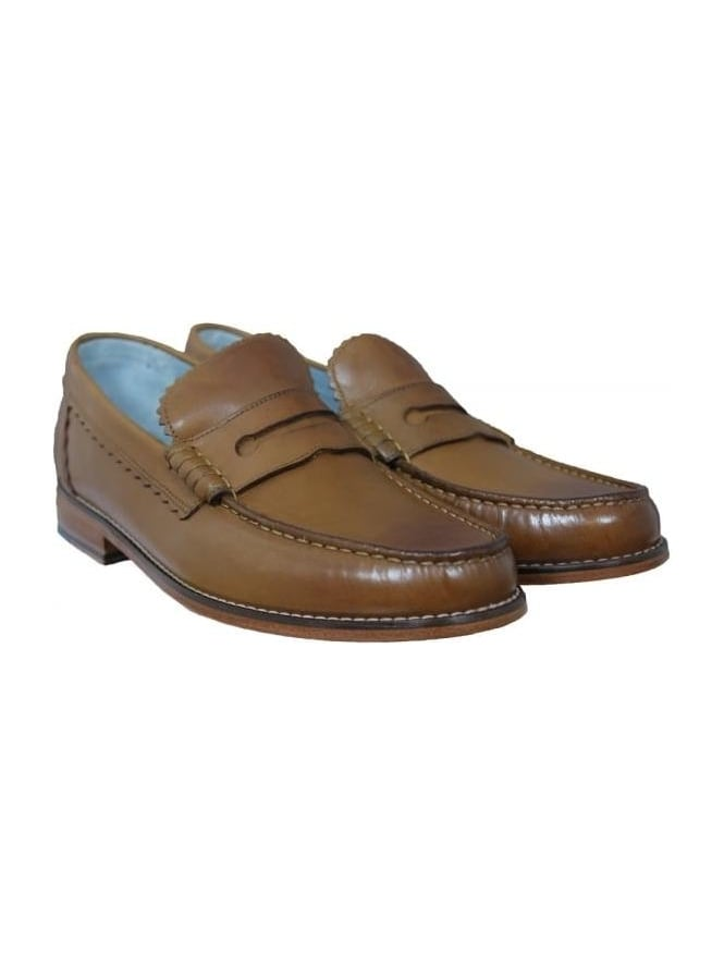 Grenson Ashley Calf Loafer - Tan