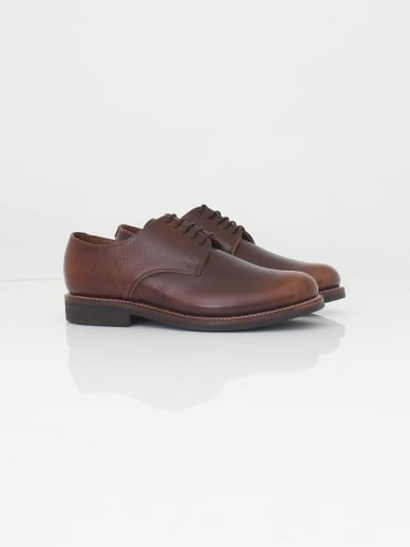 Curtis Vintage Grain Derby - Vintage Tan