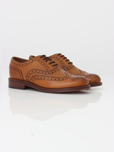 Stanley Brogue - Tan