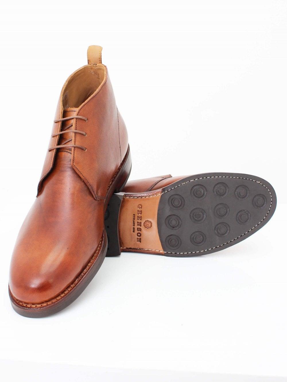 Grenson Wendall Chukka Boot in Tan