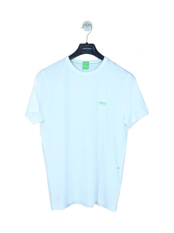 BOSS Green - BOSS Green Basic Logo Crew Neck T.Shirt - White