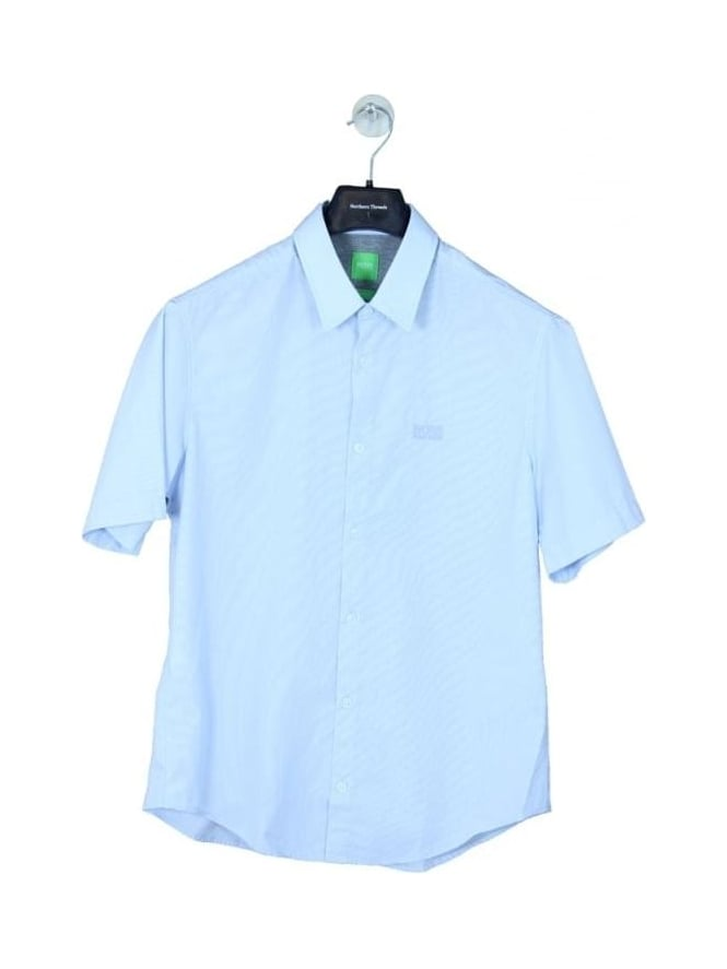 HUGO BOSS - BOSS Green C-Busterino Shirt - Blue