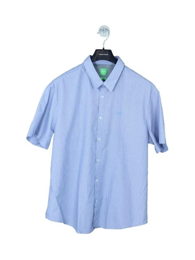 HUGO BOSS - BOSS Green C-Busterino Shirt - Navy