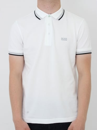 - BOSS Green Paddy Polo - White
