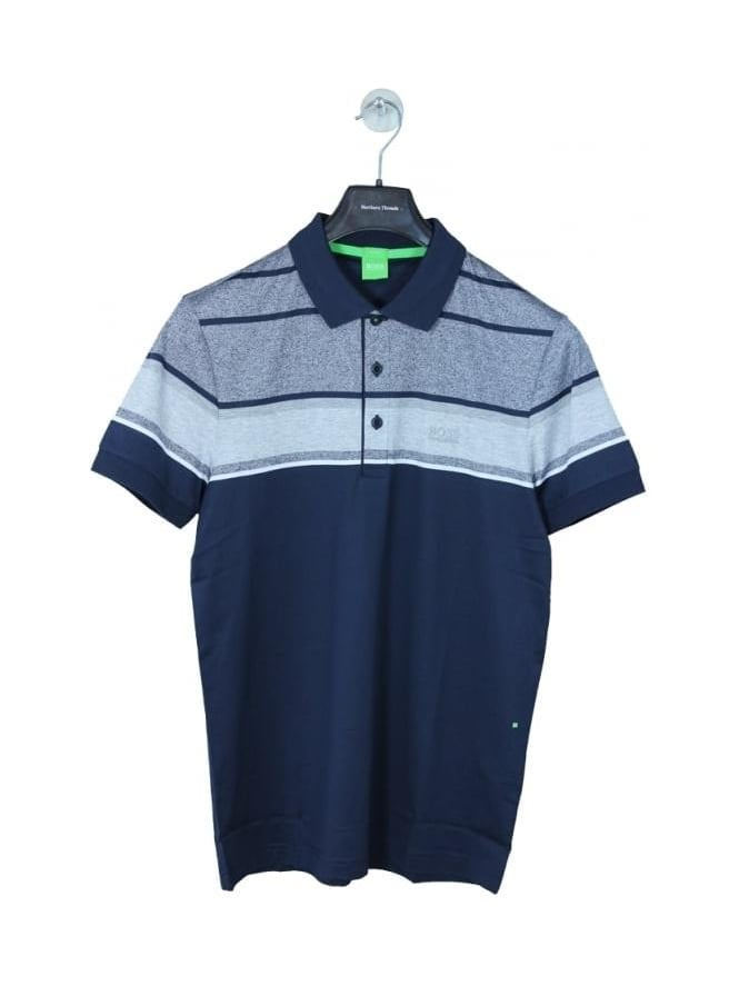 HUGO BOSS - BOSS Green Paule 5 Polo - Navy