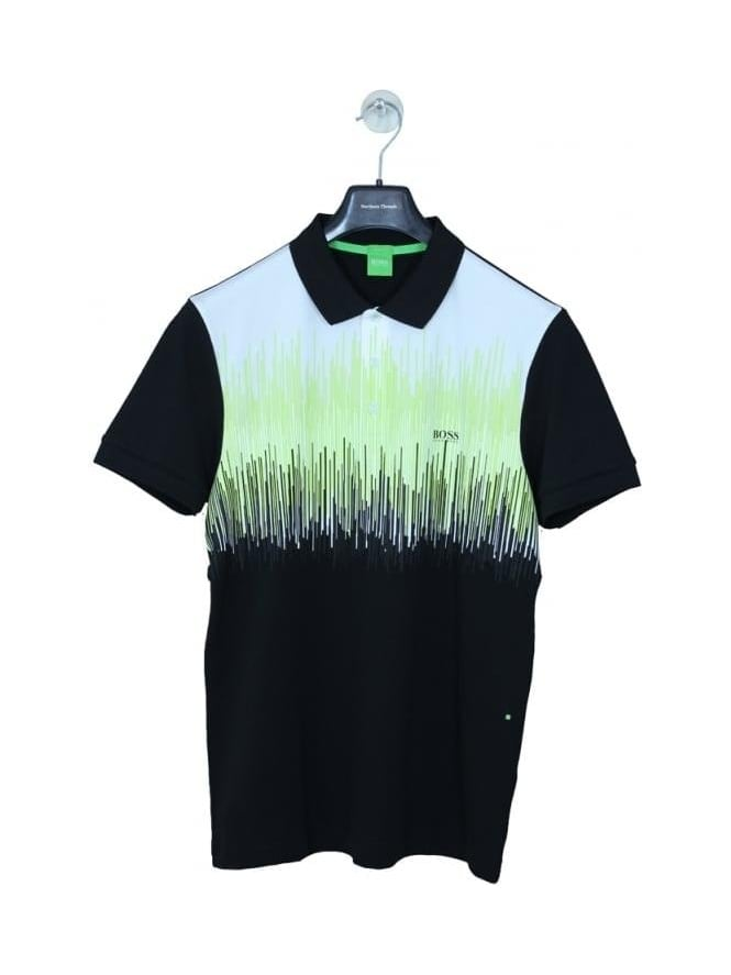 HUGO BOSS - BOSS Green Paule 6 Polo - Black