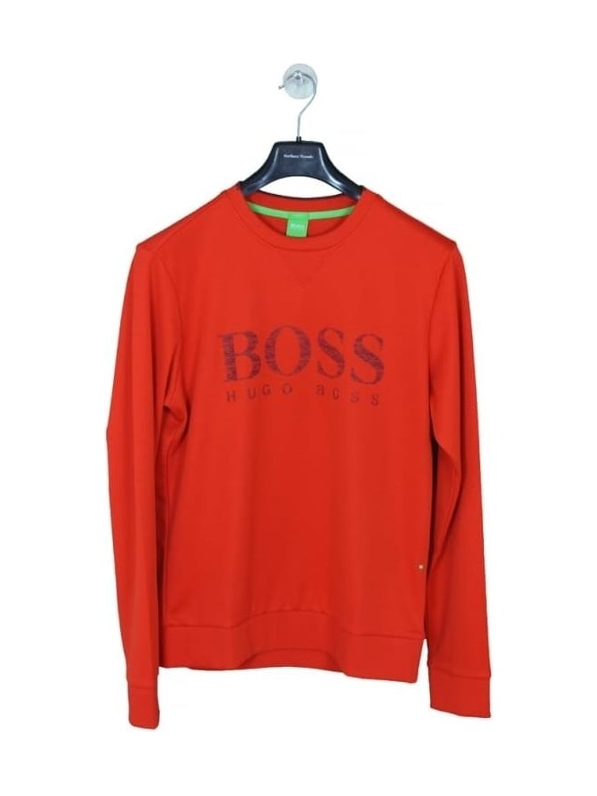 HUGO BOSS - BOSS Green Salbo Sweat - Dark Orange