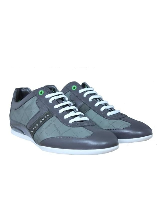 BOSS Green - BOSS Green Space Lowp Trainer - Medium Grey