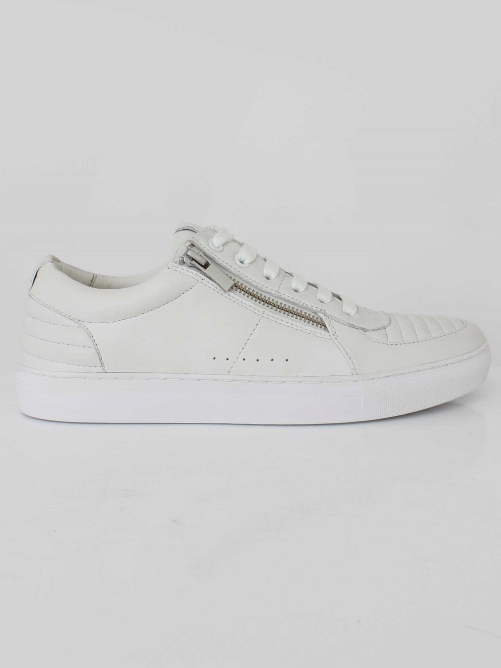 c512d2d3df29 Hugo Boss Futurism Tenn Trainer in White | Northern Threads