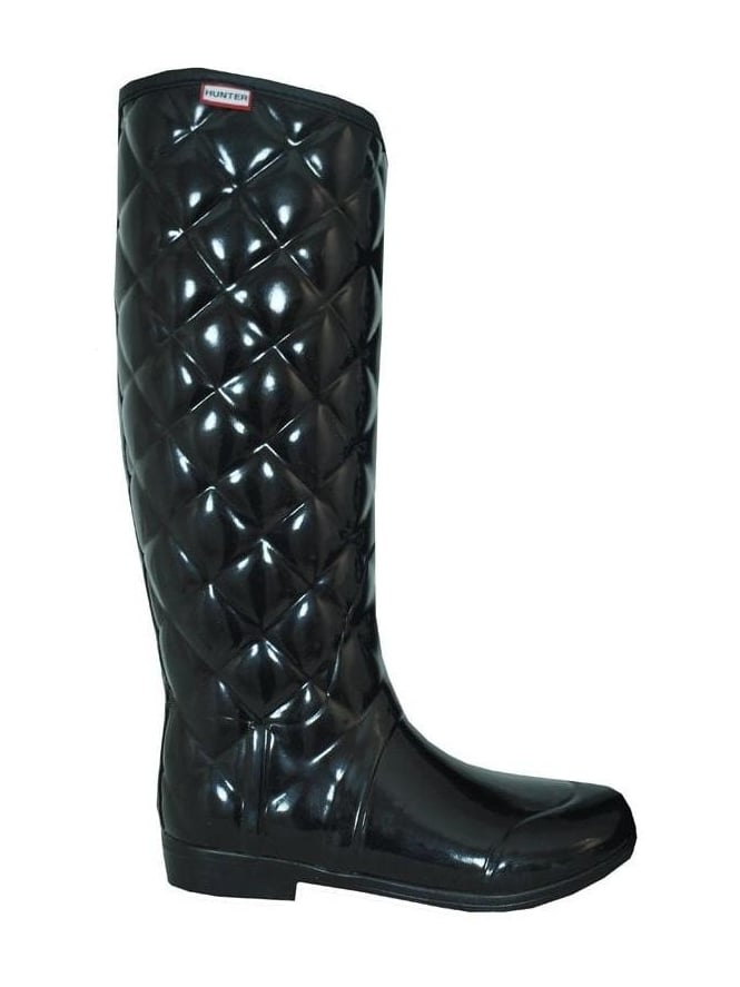 low priced ad827 da91c Regent Savoy Quilted Boot - Black