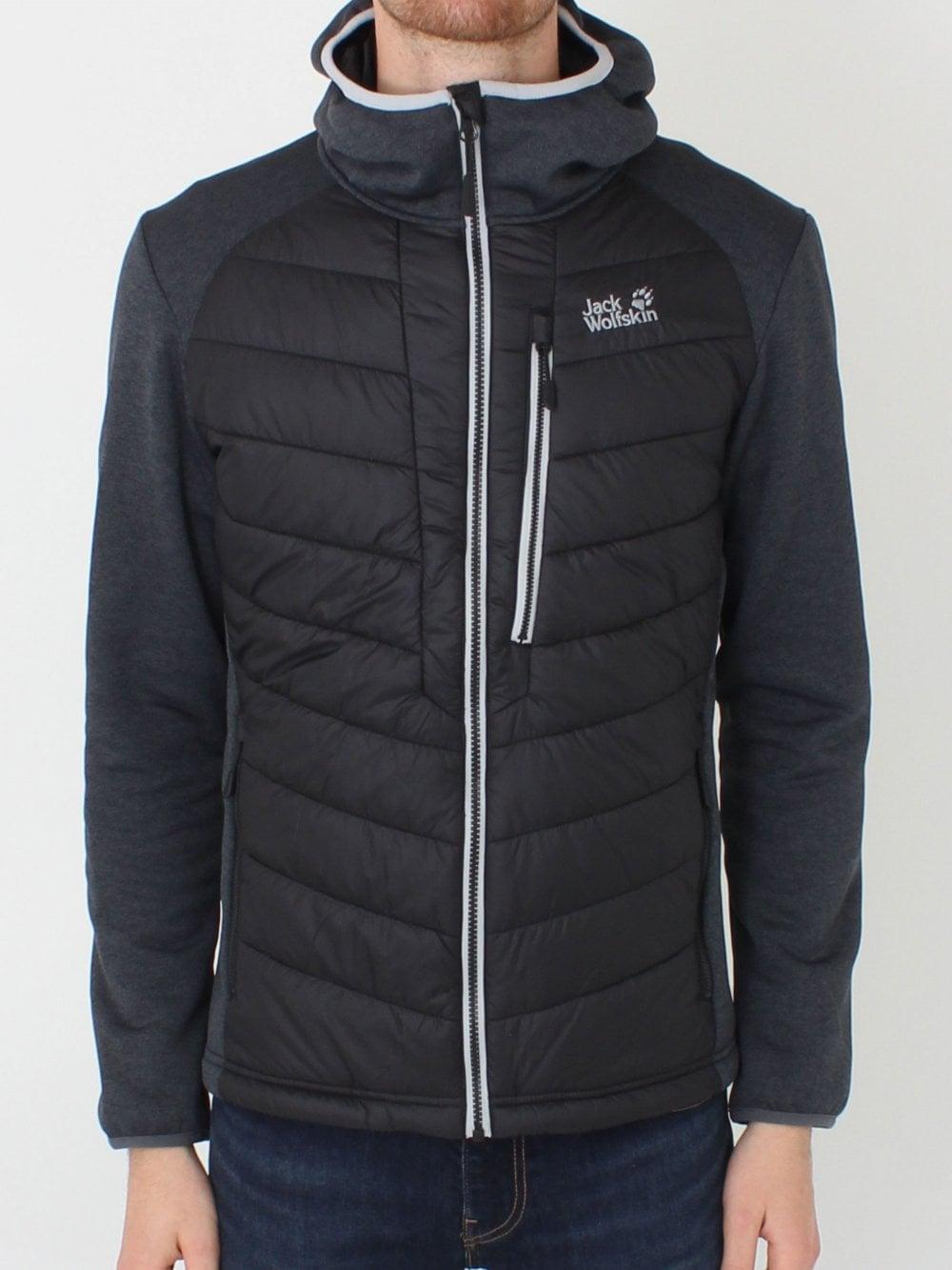 Jack Wolfskin Skyland Crossing Jacket Black Outerwear
