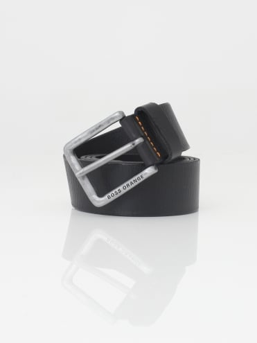 Jeek Leather Belt - Black