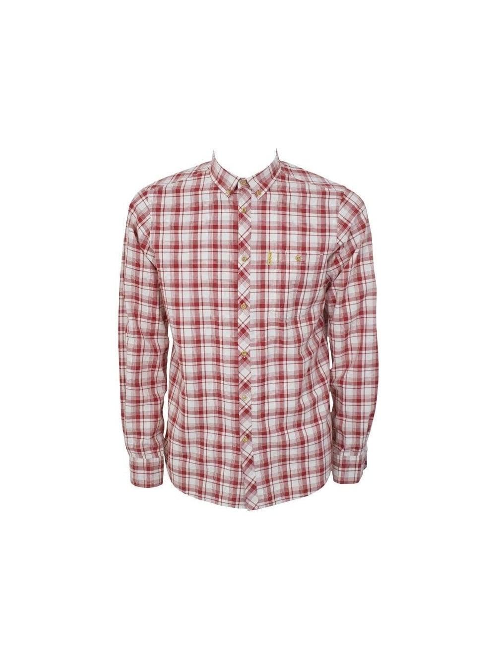 Ben sherman kensington shirt in starch northern threads for Starch on dress shirts