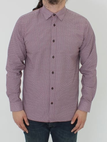 Kolma Core Print Shirt - Purple