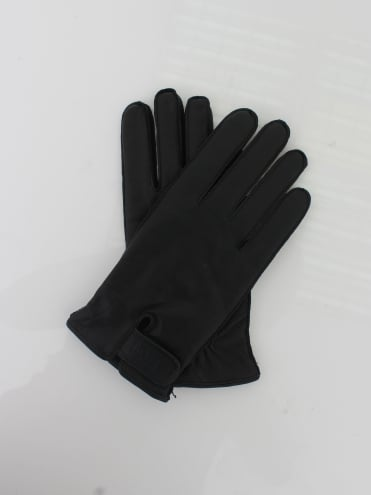 Kouper Leather Gloves - Black
