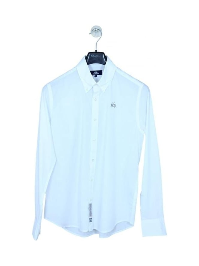 La Martina Pepe Poplin Shirt - Optic White