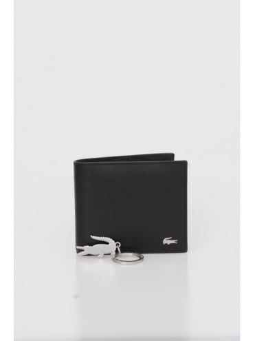Billfold Key Coin Wallet - Black