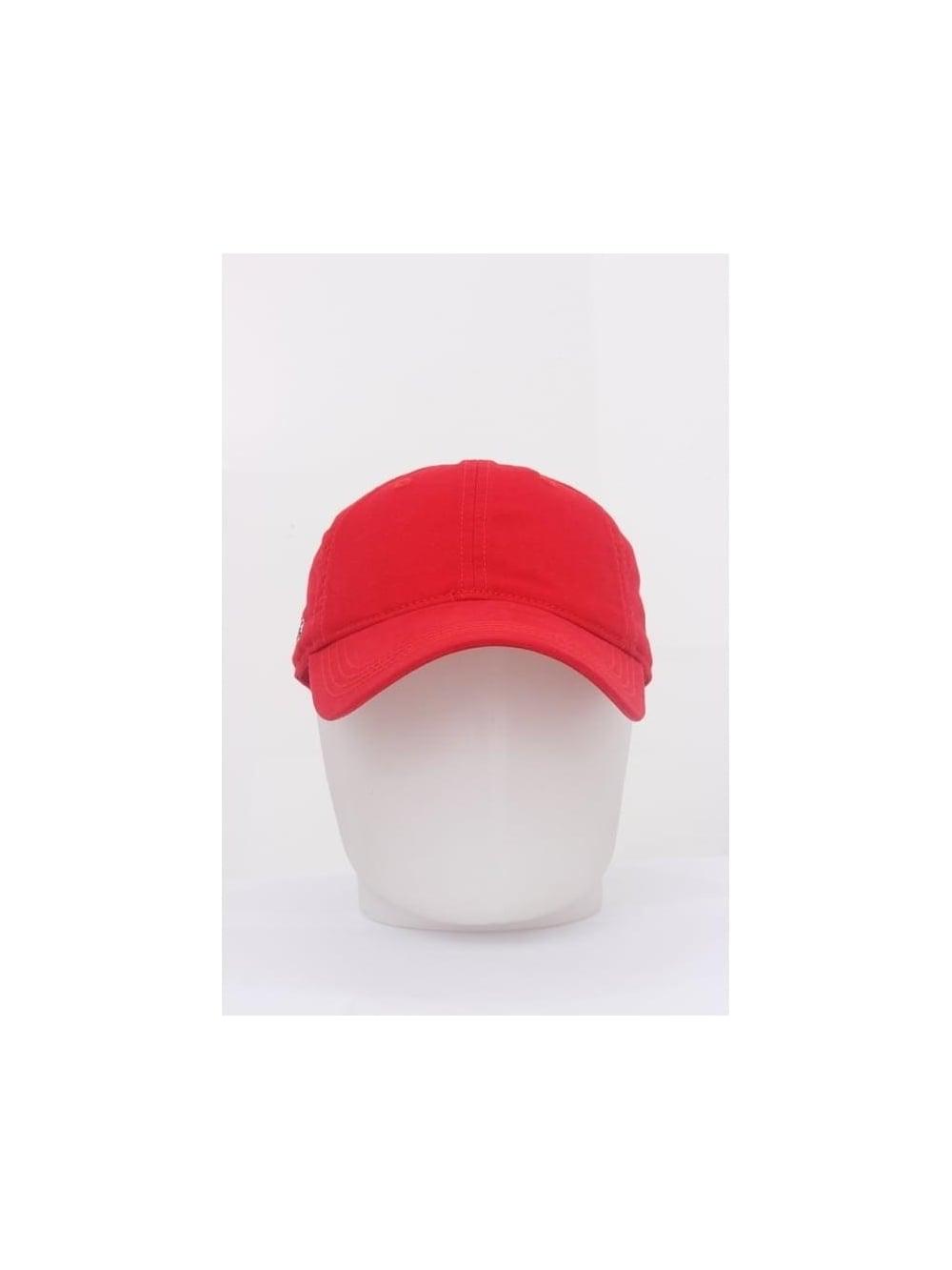 62c833c3622 Lacoste Gaberdine Logo Cap in Rouge - Northern Threads