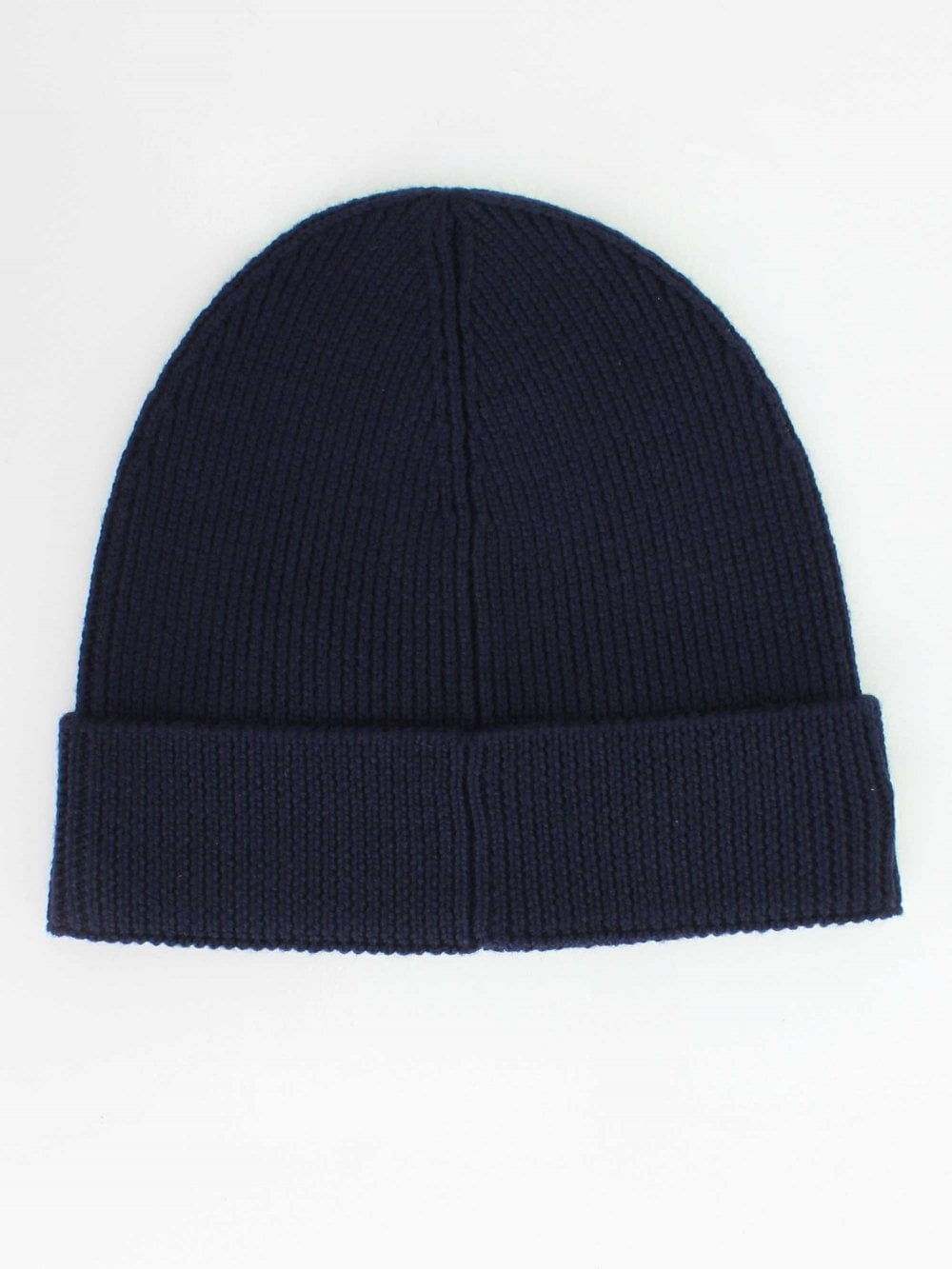 Lacoste Knitted Logo Beanie in Navy  0ae1b8a3aa03