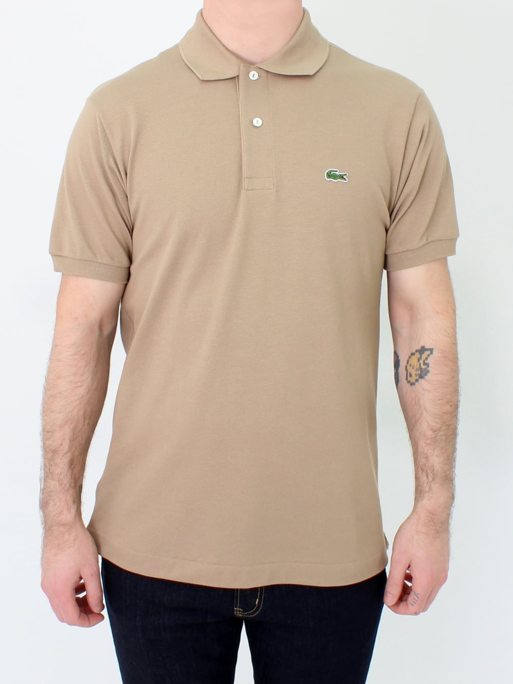 c681c969 Lacoste L1212 Classic Polo in Beige | Northern Threads