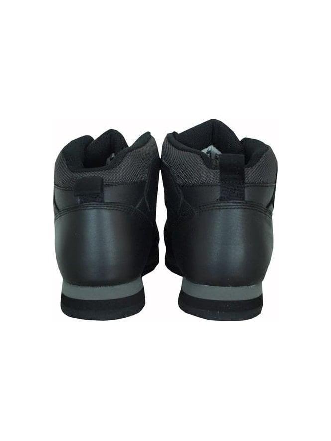048336fca102ad Lacoste Footwear - Lacoste Horben Leather Spm Boot - Black Grey ...