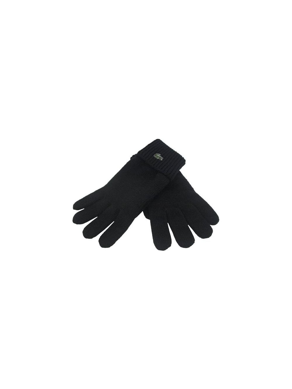 8fe550013 Lacoste - Lacoste Wool Gloves - Black - Lacoste Gloves at Northern ...
