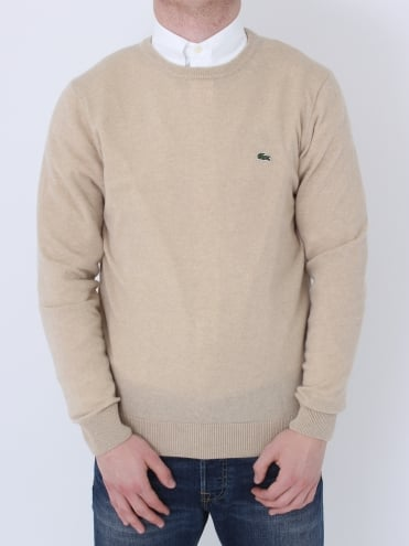 Lambswool Crew Neck Knit - Claire