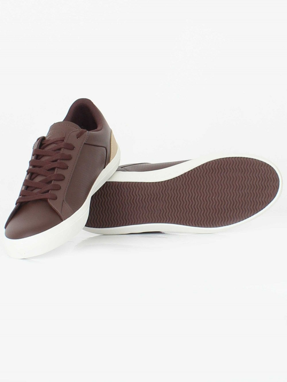 c987456b23388 Lacoste Lerond 418 Trainer in Brown