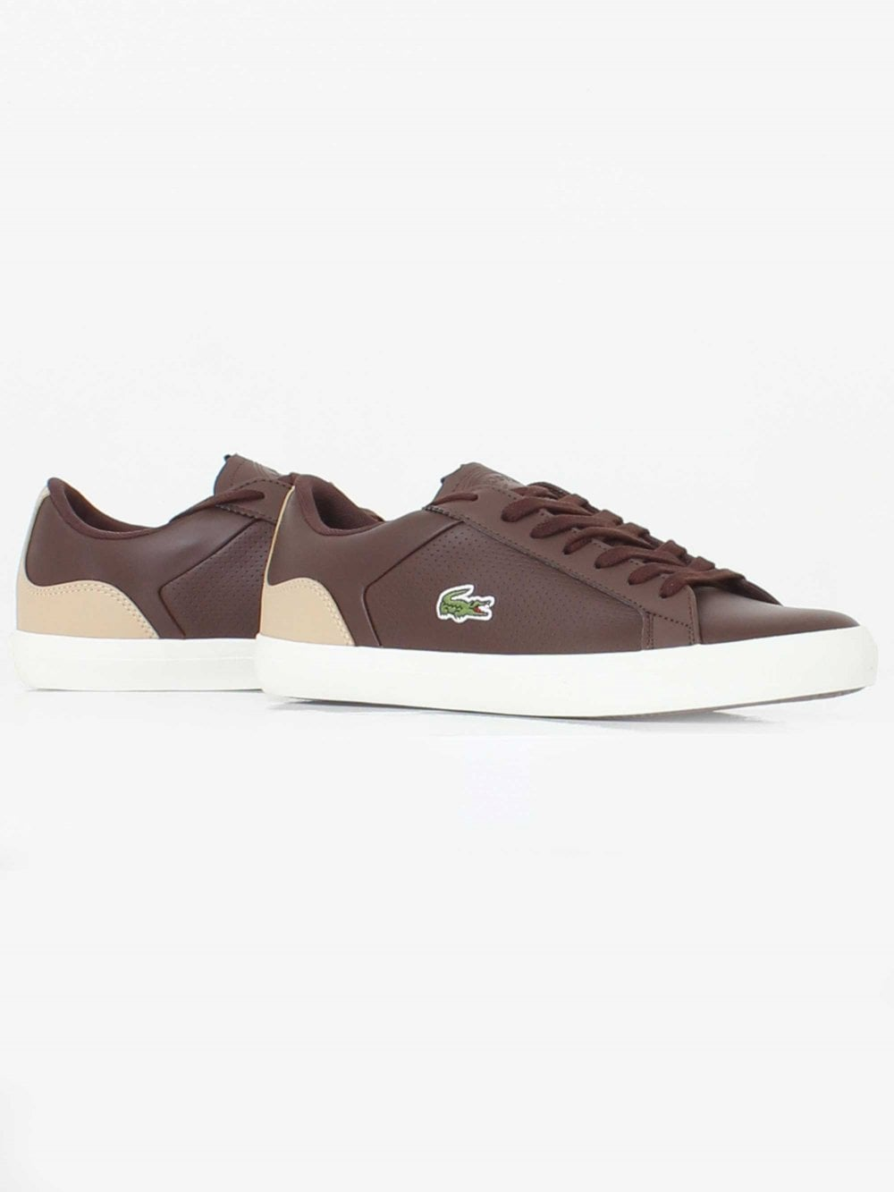 caa8769d7 Lacoste Lerond 418 Trainer in Brown