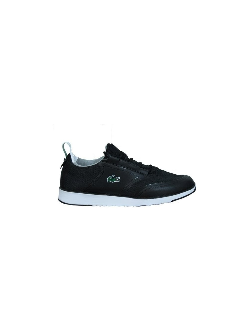 68afb67ed936f Lacoste Light LT12 SPM Trainers in Black Black - Northern Threads